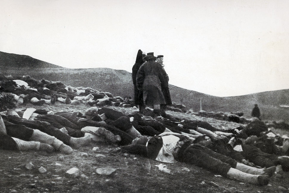 """The Price of Victory - Part of the Japanese Dead Lying on the 203-meter Hill"" page 233, A Photographic Record of the Russo-Japanese War, Edited by James H. Hare 1905, PF Collier & Son, New York"