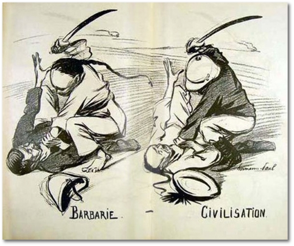 american barbarism Barbarism and shame: why the us refuses a korea peace treaty by finian cunningham september 22, 2017  information clearing house  - the korean crisis is a powerful lens on american barbarism, past and present.