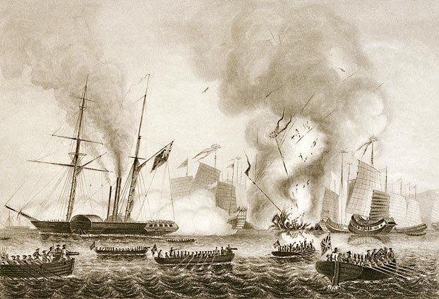 the opium wars: britain invades china essay The major cause of the wars was due to opium smuggling in china by drug traffickers from ireland and united kingdom of britain (willoughby, 13) the wars consisted of first opium war that happened from 1839 to 1842 and second opium war from 1856 to 1860.