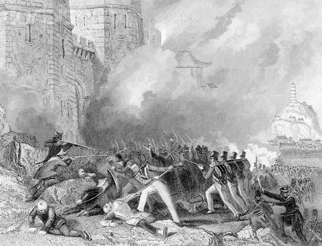 the opium war The opium wars were two wars between china and western countries during the qing dynasty the first was between great britain and china and lasted from 1839 until 1842.