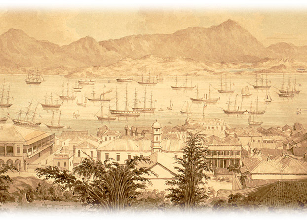 """Attack on the Chinese Junks"""" 1841"""