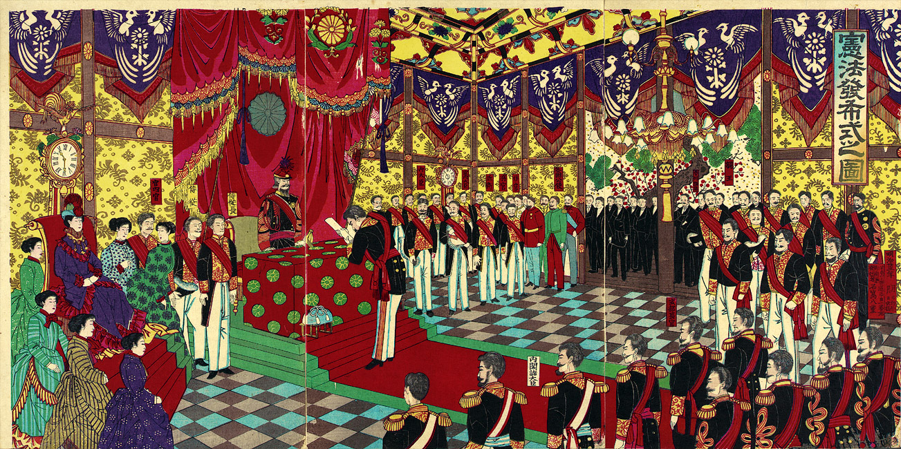 separation of religions in meiji japan essay In the meiji period, shinto was made japan's shinto is one of japan's earliest religions with the influence of the usa and the separation of religion and.